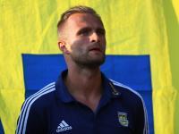 Antek Łukasiewicz po meczu z Pogonią Siedlce (audio)