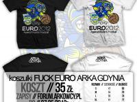 Koszulki FUCK €URO 2012 - ostatnie sztuki!