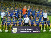 Arka wicemistrzem Polski U-14