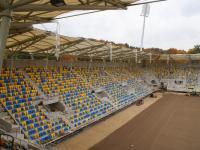 Budowa stadionu: 24 października