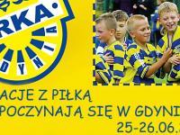 Wakacje z piłką rozpoczynają się w Gdyni!