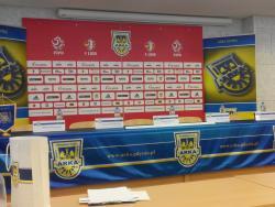 Konferencja po meczu z Chojniczanką Chojnice