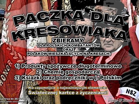VI Paczka dla Kresowiaka 2016