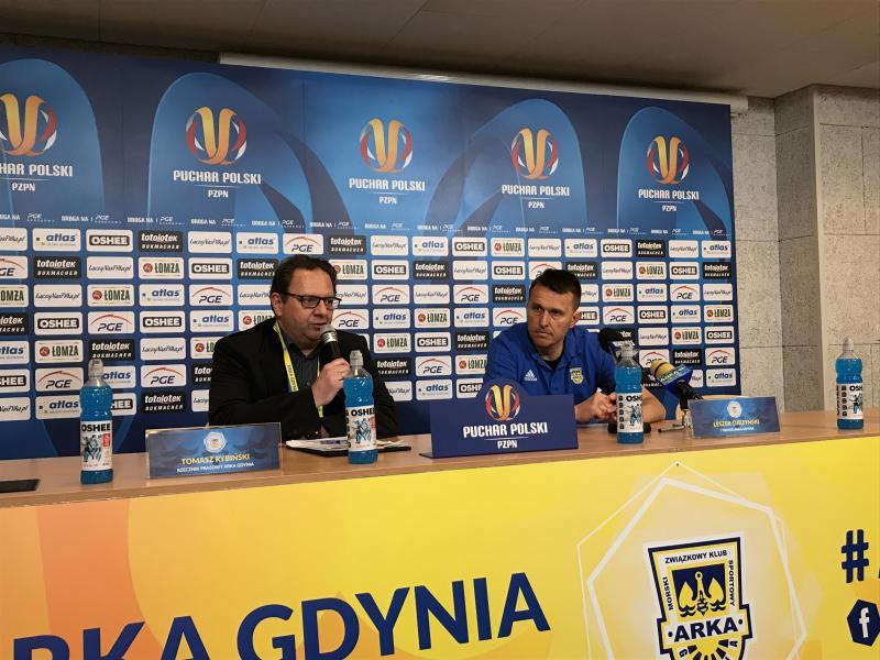 Konferencja po meczu z Koroną