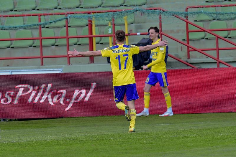 Hiszpański piłkarzem meczu w Bełchatowie