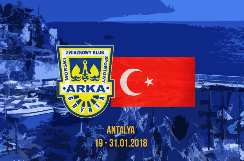 Kadra Arki na zgrupowanie w Turcji