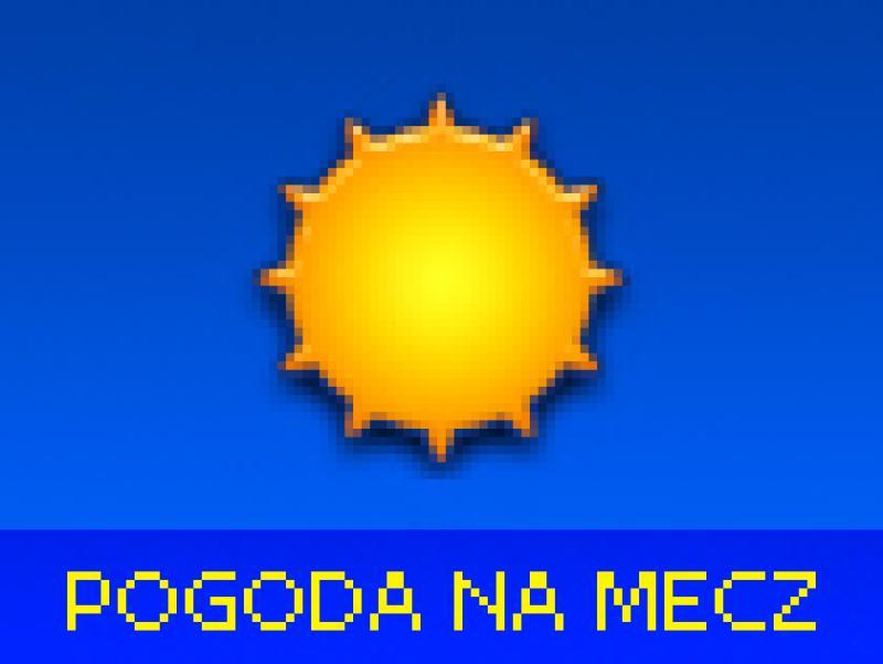Pogoda na mecz: ciepło i słonecznie