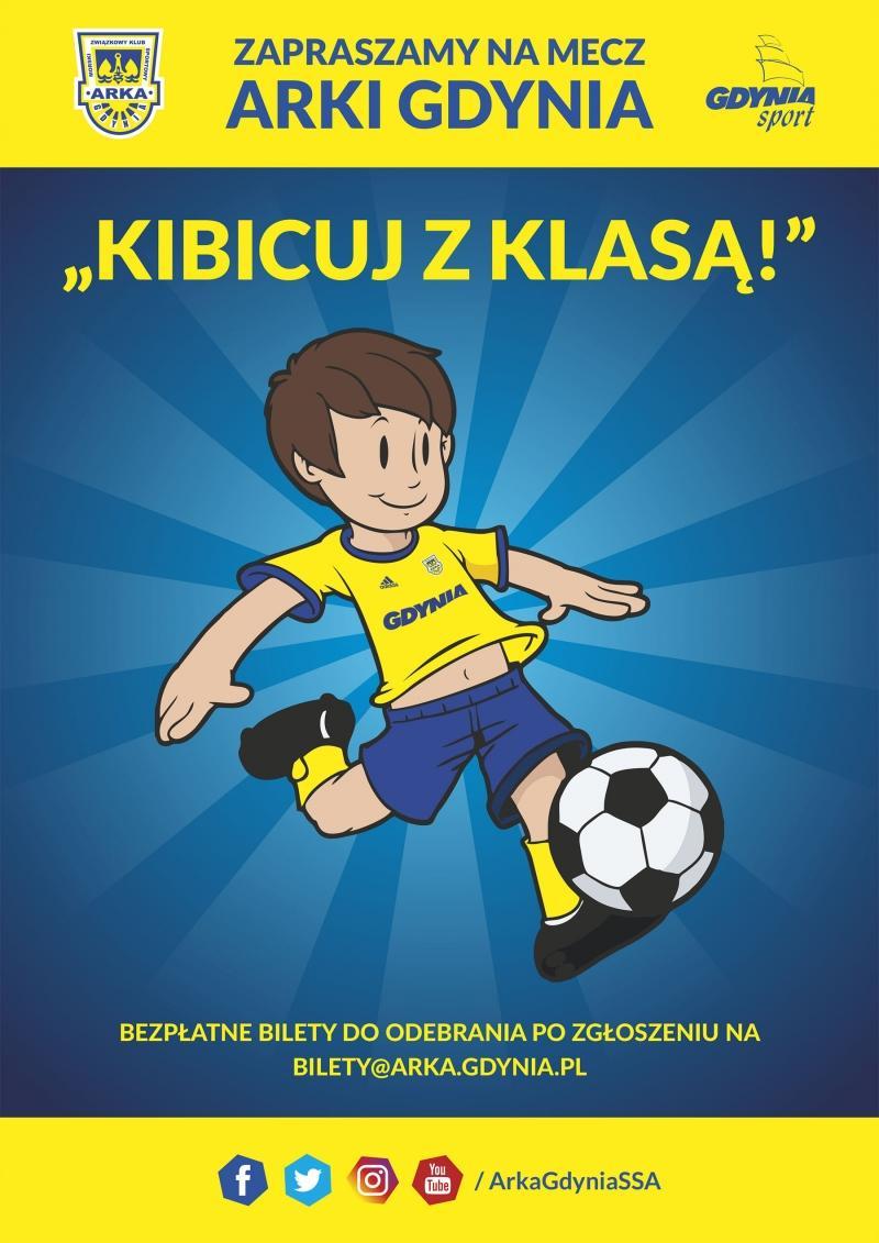 SKGA i Arka zapraszają młodych kibiców na mecz!