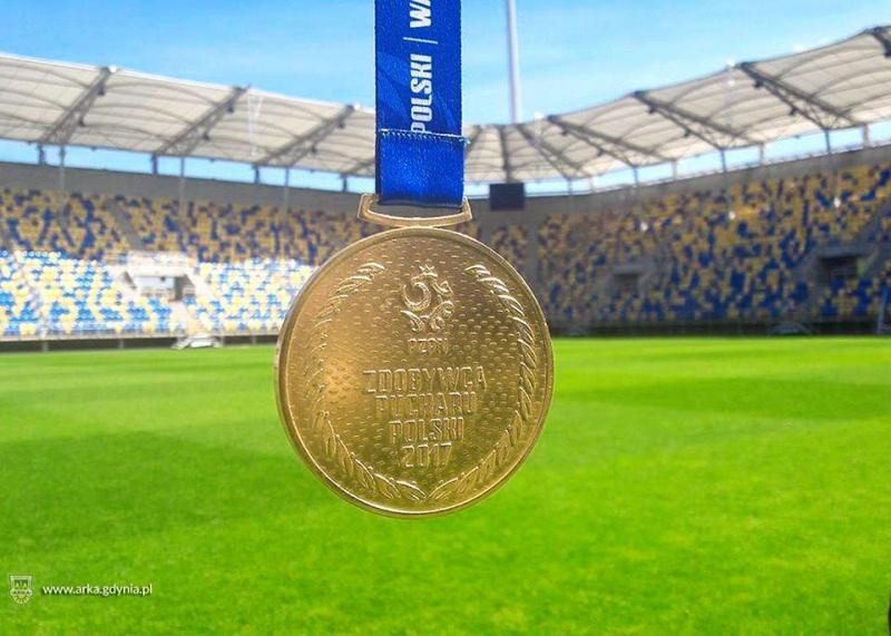 Wylicytuj złoty medal za Puchar Polski