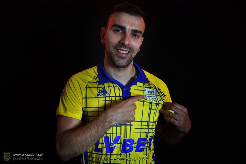 Azer Bušuladžić piłkarzem Arki