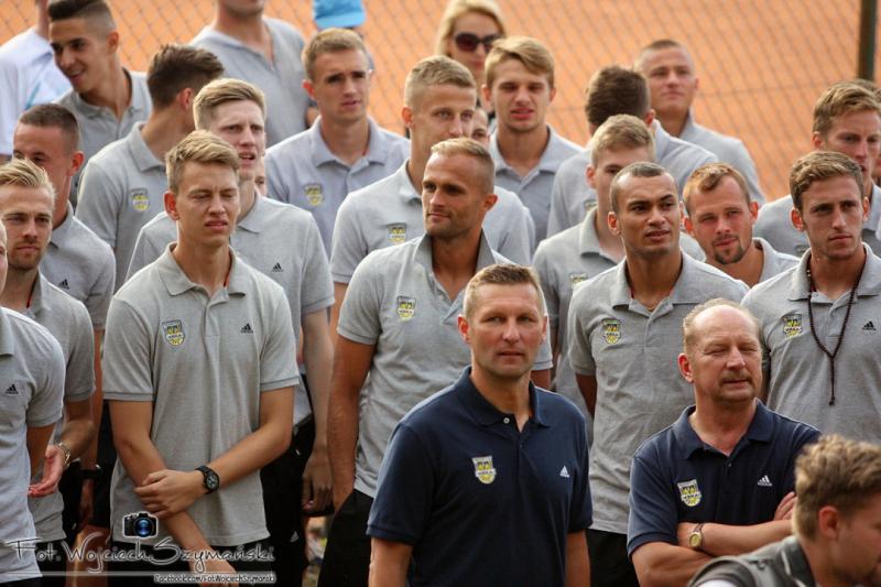 Kadra Arki na mecz w Suwałkach