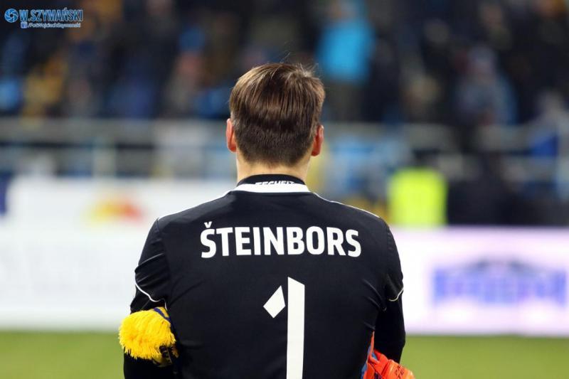 Steinbors z najwyższą notą za mecz w Gliwicach
