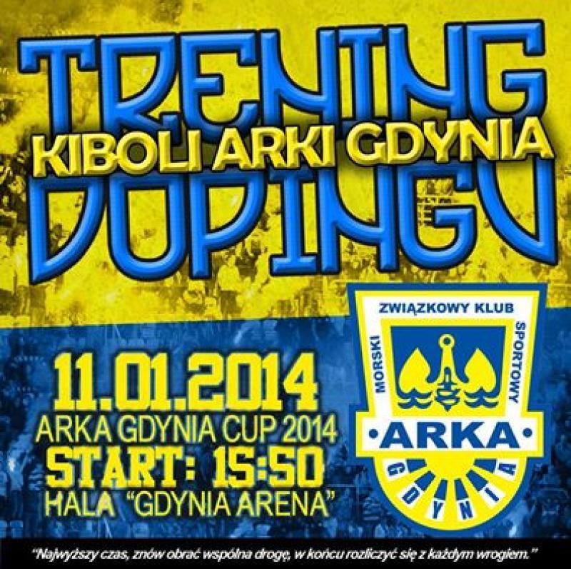 Trening dopingu na Arka Gdynia Cup 2014!